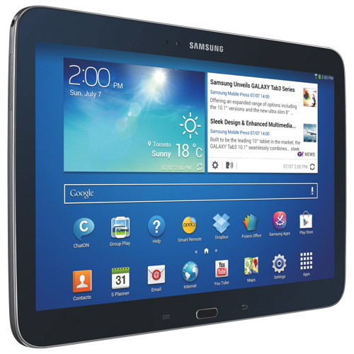 samsung galaxy tab 3 10 1 gtp5210zwyxac tablet 16gb. Black Bedroom Furniture Sets. Home Design Ideas