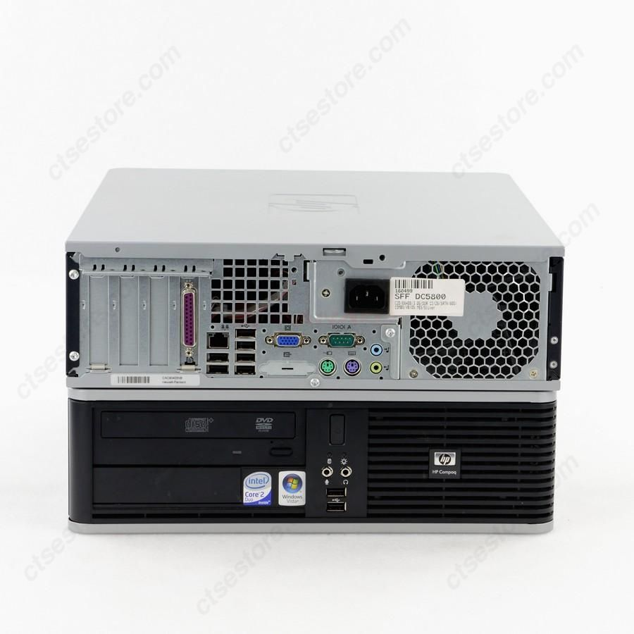 Hp Dc5800 Sff With Windows 7 Home Premium